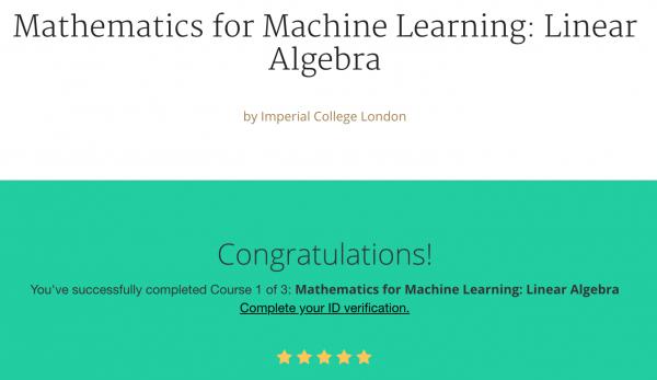 linear algebra – Sho\'t left to data science